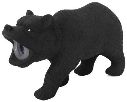 Obrázek Latexový medvěd s pískadlem 15x5x9 cm