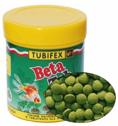 Obrázek Tubifex Beta Tab (býložravé ryby na dně) 125 ml