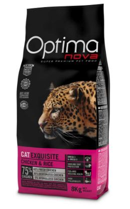Obrázek OPTIMAnova Cat Exquisite 8 kg