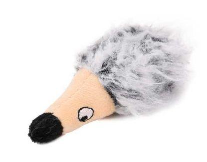 Obrázek Hračka kočka - plyšový ježek s šantou
