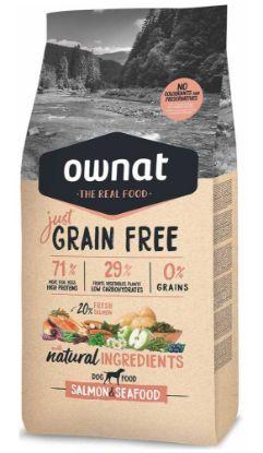 Obrázek OWNAT Dog Just Grain Free Salmon & Seafood 3 kg
