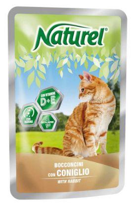 Obrázek Naturel Cat Rabbit, kapsička 100 g