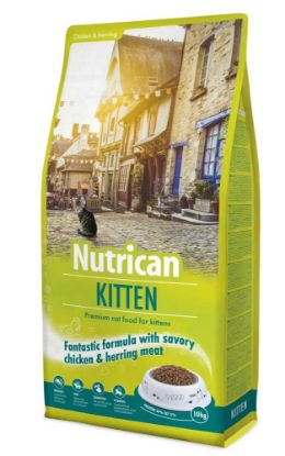 Obrázek Nutrican Cat Kitten 10 kg