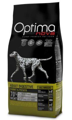 Obrázek OPTIMAnova Dog Adult Digestive Rabbit GF 2 kg