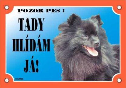 Obrázek Cedulka Dafiko ŠPIC