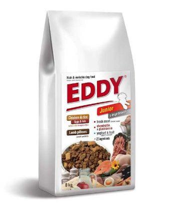 Obrázek Eddy Dog Junior Large breeds 8 kg