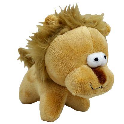 Obrázek Hračka pes - plyšový lev pískací 12 cm