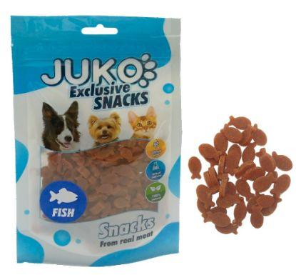 Obrázek JUKO SNACKS Tuna in fish shape 70 g