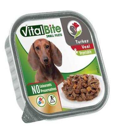 Obrázek VitalBite masové ragou s telecím, krůtím a zeleninou, vanička 150 g