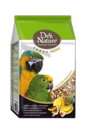 Obrázek Deli Nature 5 Menu jihoamerický papoušek 800 g