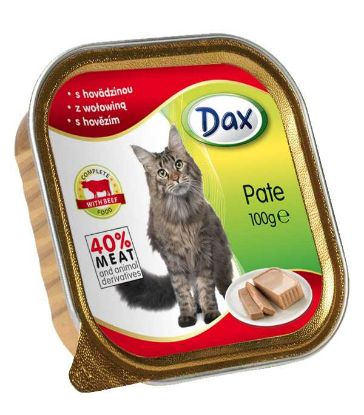 Obrázek Dax Cat vanička hovězí 100 g