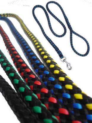 Obrázek Vodítko lano pletené různé dekory 12