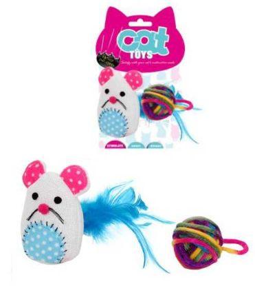 Obrázek Myš se šantou a balónek