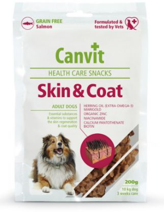 Obrázek Canvit SNACKS Skin  &  Coat 200 g