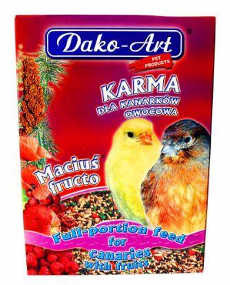 Obrázek Krmivo s ovocem kanár Dako 500 g