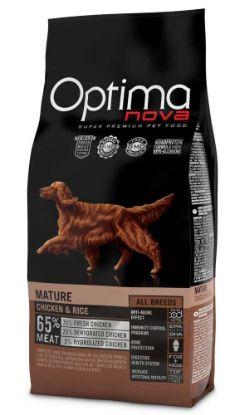 Obrázek OPTIMAnova Dog Mature Chicken & Rice 12 kg