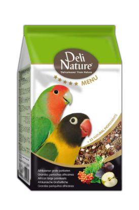 Obrázek Deli Nature 5 Menu africký velký papoušek 800 g