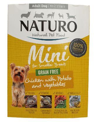Obrázek Naturo Dog Mini Chicken GF 150 g