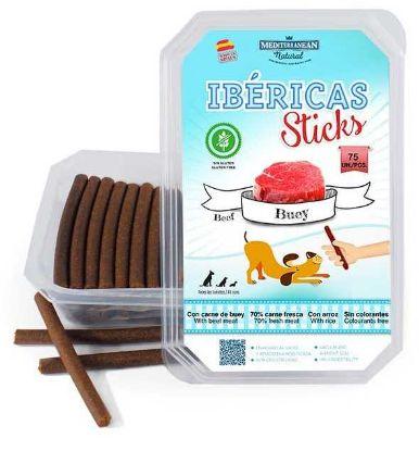 Obrázek Ibéricas Sticks Dog Snack Beef (75 ks)