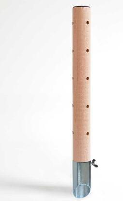 Obrázek Psí pisoár design 1 dřevěný 40 cm