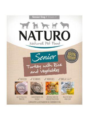 Obrázek Naturo Dog Senior Turkey & Rice with Vegetables 400 g