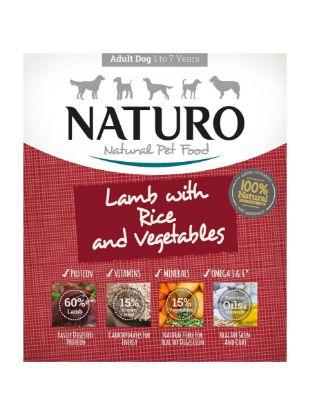 Obrázek Naturo Dog Adult Lamb & Rice with Vegetables 400 g