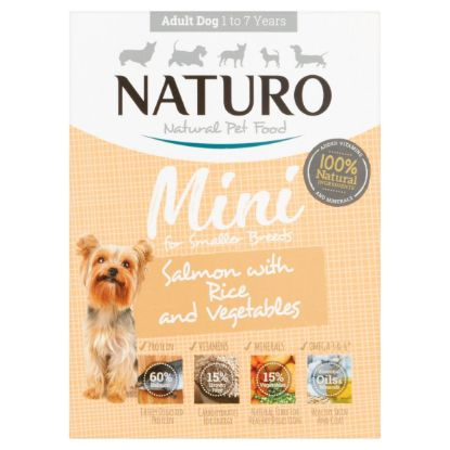 Obrázek Naturo Dog Adult Salmon & Rice with Vegetables 150 g