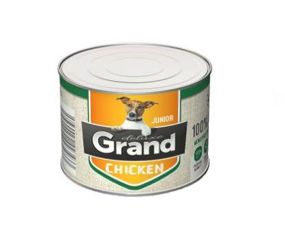 Obrázek Grand deluxe Dog Junior 100% kuřecí 180 g