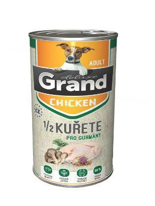 Obrázek Grand deluxe Dog 100%  kuřecí s 1/2 kuřete 1300 g