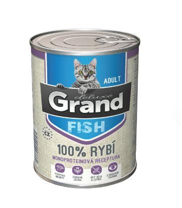 Obrázek Grand deluxe Cat 100% rybí 400 g