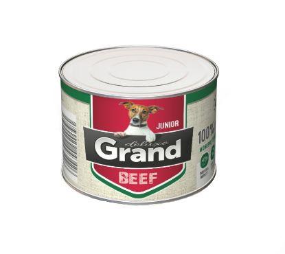 Obrázek Grand deluxe Dog Junior 100% hovězí 180 g