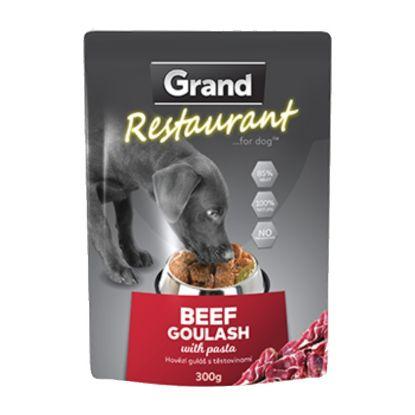 Obrázek Grand Deluxe Resturant hovězí guláš, kapsa 300 g