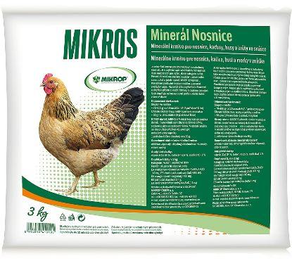 Obrázek MIKROS minerál nosnice 3 kg