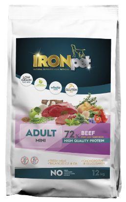 Obrázek IRONpet Dog Mini Adult Beef (Hovězí) 12 kg
