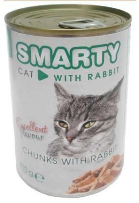 Obrázek SMARTY chunks Cat Králík 410 g