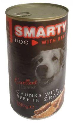 Obrázek SMARTY chunks Dog Hovězí 1240 g