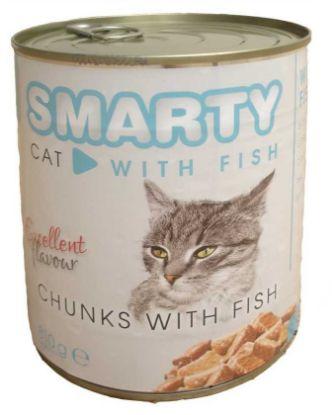 Obrázek SMARTY chunks Cat Rybí 810 g