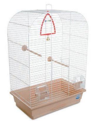 Obrázek Klec pro ptáky Aurika s výbavou 44 x 27 x 64 cm