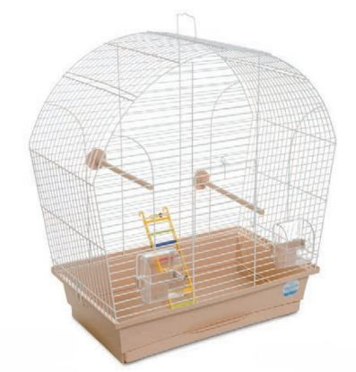 Obrázek Klec pták s výbavou Lina 44 х 27 х 54 cm