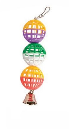 Obrázek Tři koule se zvonečkem 22 cm
