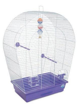 Obrázek Klec pro ptáky Arka large s výbavou 44 x 27 x 75 cm