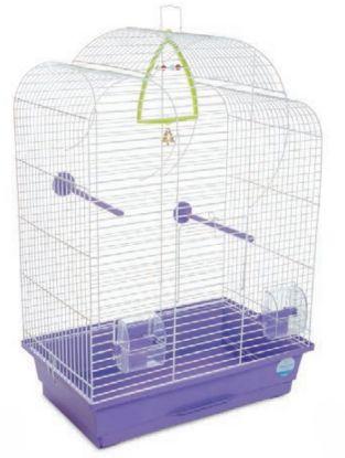 Obrázek Klec pro ptáky Volia s výbavou 44 x 27 x 63 cm