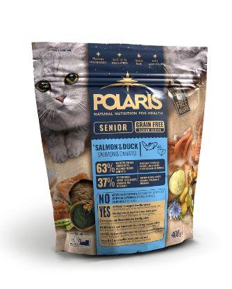 Obrázek Polaris Cat Senior losos & kachna 400 g