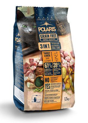Obrázek Polaris Cat Adult 3in1 krůta & kachna 1,2 kg