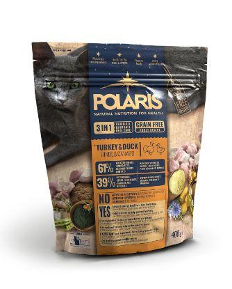 Obrázek Polaris Cat Adult 3in1 krůta & kachna 400 g
